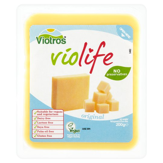 Free From Violife Block Cheese Alternative