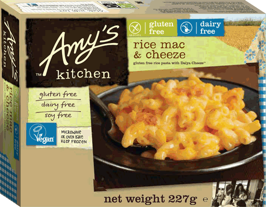 Gluten Free:Dairy Free Rice Macaroni & Cheeze