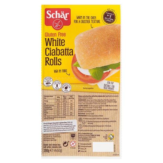 Schar White Ciabatta Rolls